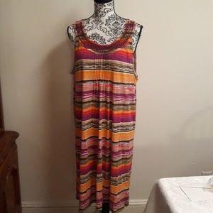 Tommy Hilfiger multi color dress